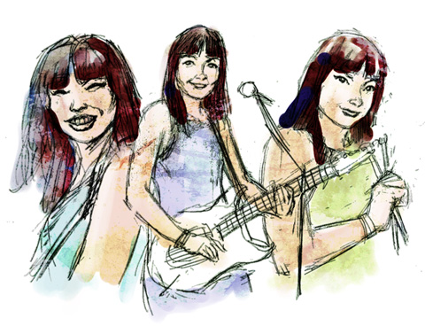 Shonen Knife by Fi Blog