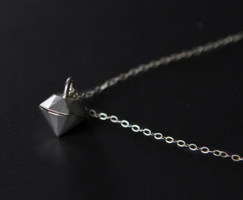 Steph Davies - Silver Diamond Locket