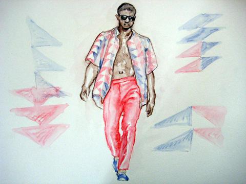 t.lipop LFW SS12 menswear by Celine Eliott