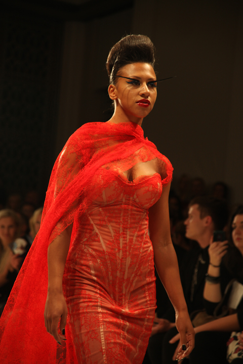 Ziad Ghanem SS 2012 review photo amelia gregory