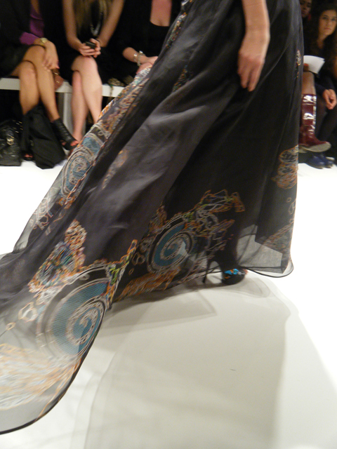 Carlotta Gherzi last dress close up