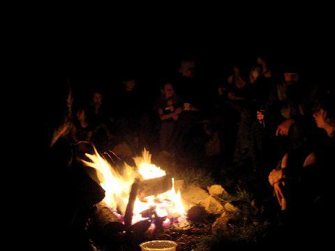Fire at Tir y Gafel ceilidh