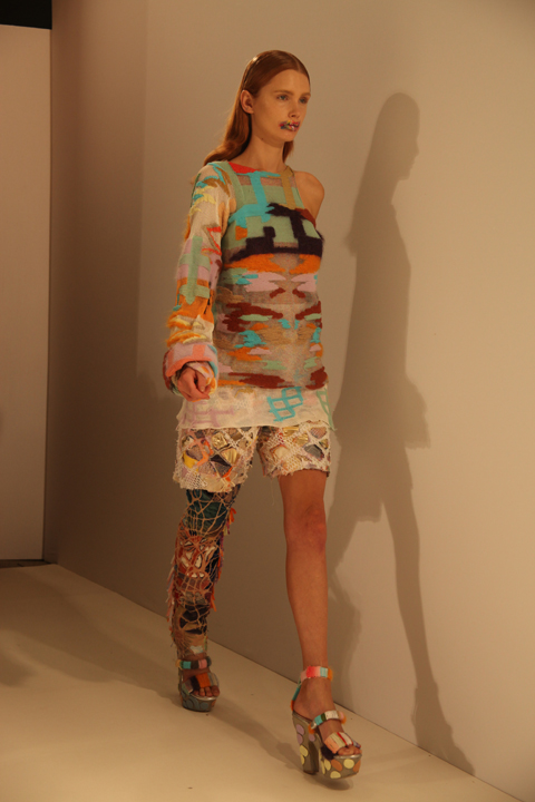 Leutton Postle LFW S/S12 photo by Amelia Gregory