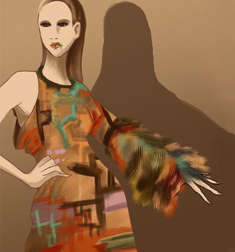 Leutton Postle S/S12 LFW by Gemma Sheldrake