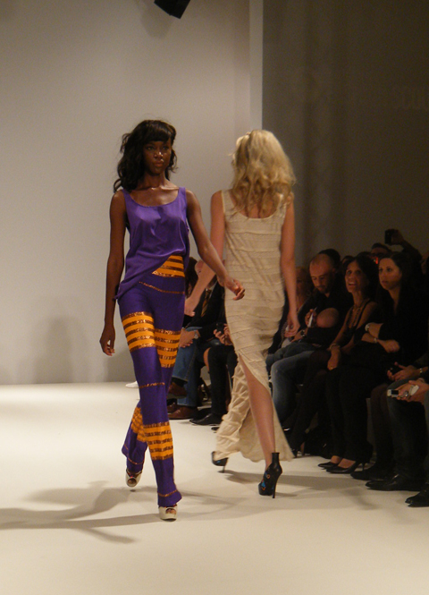 Carlotta Gherzi SS12 purple and orange