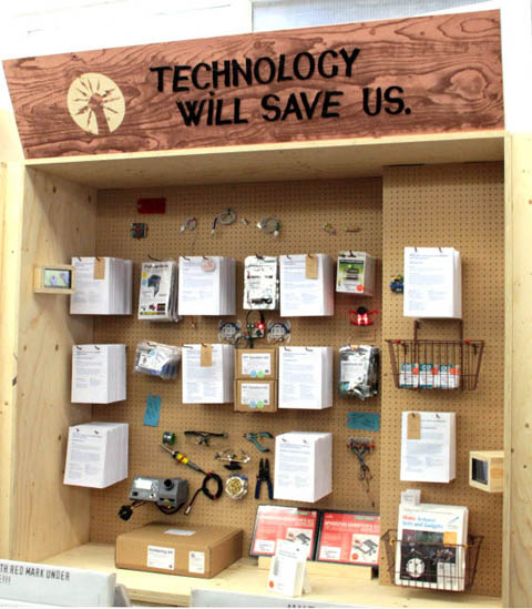 technology will save us stall