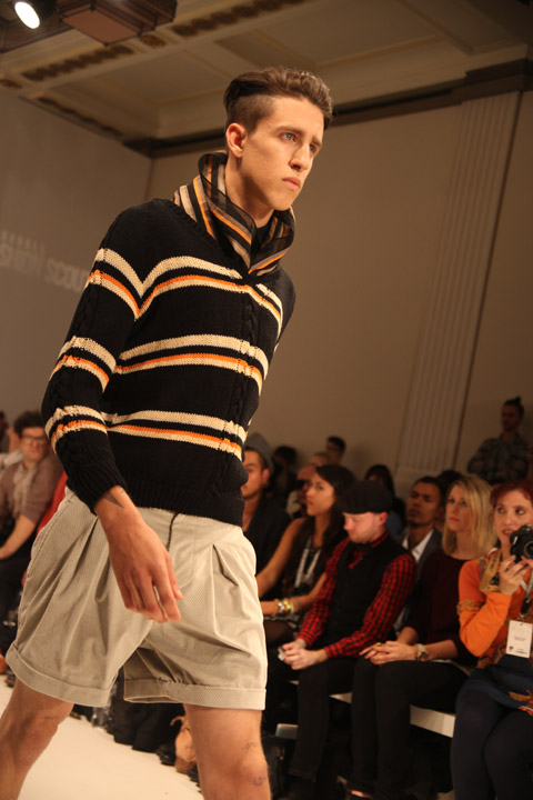 Ones to Watch men Baartmans and Siegel SS 2012 review-photo by Amelia Gregory