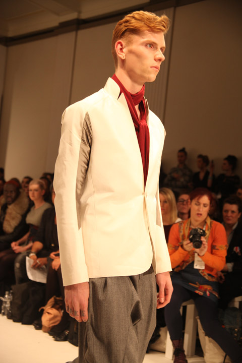 Ones to Watch men Posthuman Wardrobe SS 2012 review-photo by Amelia Gregory