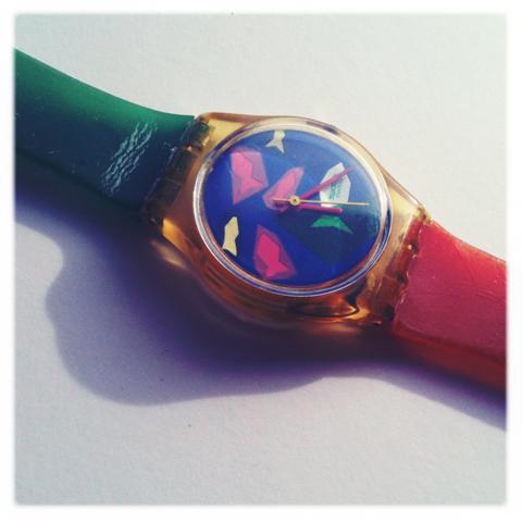 Swatch 80s pop