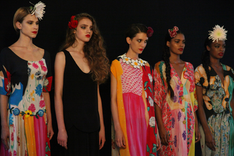Tata Naka SS 2012 LFW review -photo by Amelia Gregory