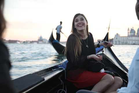 Venice Biennale 2011 Swatch review-travelling by gondola