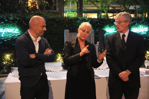 Venice Biennale 2011 Swatch review-Meeting the director of the Guggenheim
