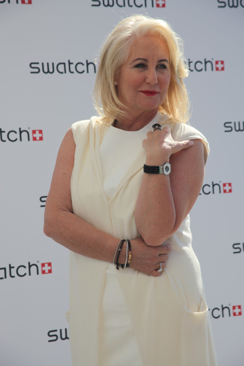 Venice Biennale 2011 Swatch review Madame Emch wears Jean Michel Othoniel