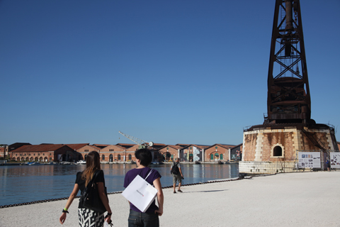 Venice Biennale 2011 Swatch review-Arsenale
