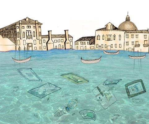 Venice Treasure by Laura Frame