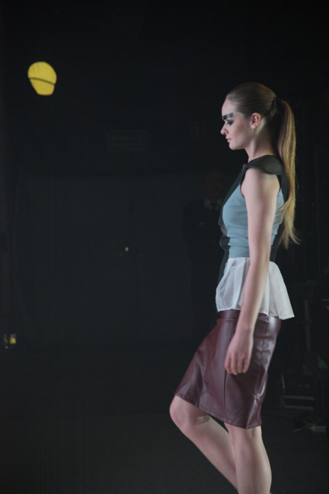 Aga Pou Fashion Week Poland people SS 2012-photography by Amelia Gregory