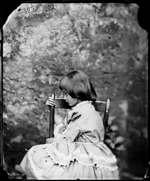 Alice Pleasance Liddell, Summer 1858