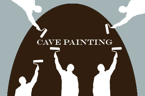 Cave Painting by Barb Royal