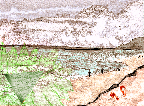 Cave Painting by Sam Parr