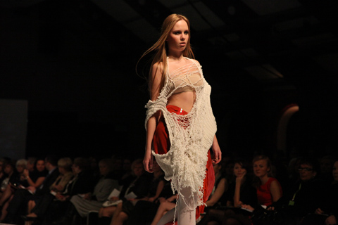 Dominika Naziebly Gala Fashion Week Poland SS 2012-photo by Amelia Gregory