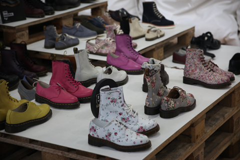 Fashion Week Poland stands SS 2012-Dr. Martens