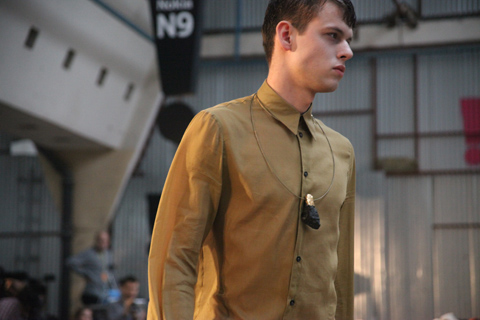 Jacek Klosinski Hyakinth Fashion Week Poland SS 2012-photography by Amelia Gregory