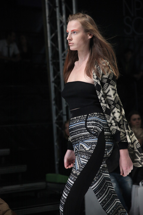 Lucja Wojtala Fashion Week Poland people SS 2012-photography by Amelia Gregory