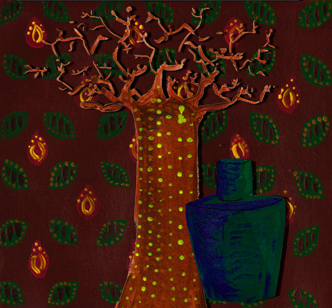 Lush Smell of Freedom perfume Fire Tree by Catherine Stone