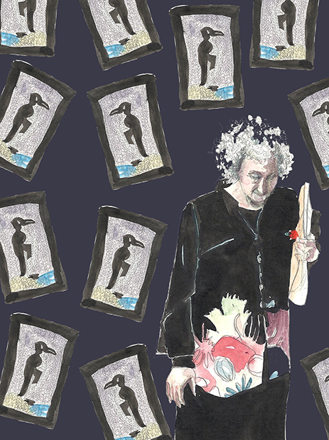 Margaret Atwood by Faye West