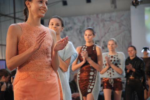 Olga Szynkarczuk Fashion Week Poland SS 2012-photography by Amelia Gregory