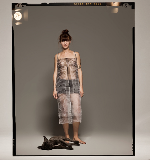 Prose SS 2012 x-ray_dress_front