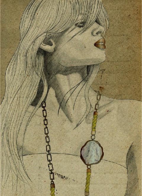 Ros Millar Necklace by Cathryn Nicholson