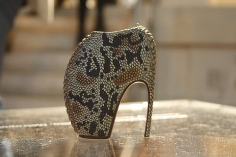 Shoes for Show Minature McQueen Armadillo