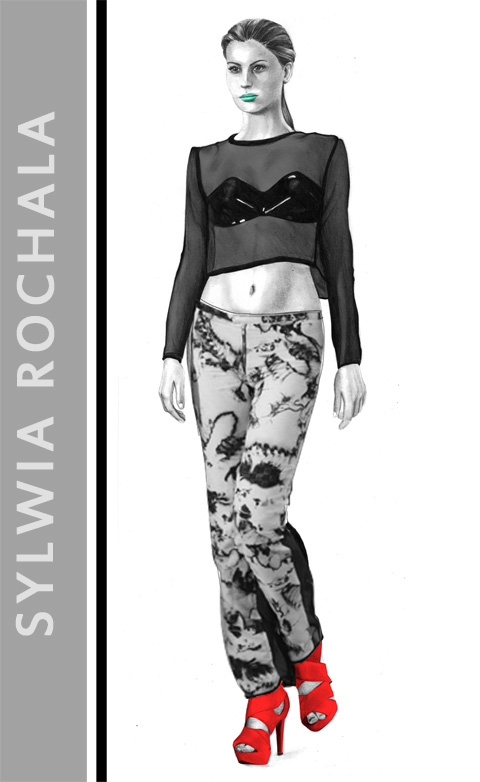 Sylwia Rochala S/S 2012 by Rebecca Higgins