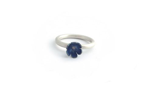 Forget Me Not Ring by Sian Bostwick