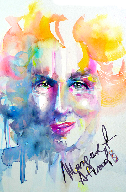 margaret-atwood-by marta-spendowska
