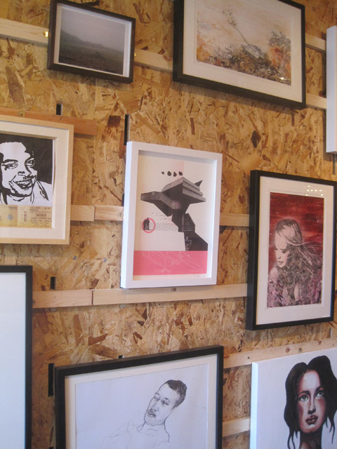 Boxpark Shoreditch -Art against knives photography by Amelia Gregory