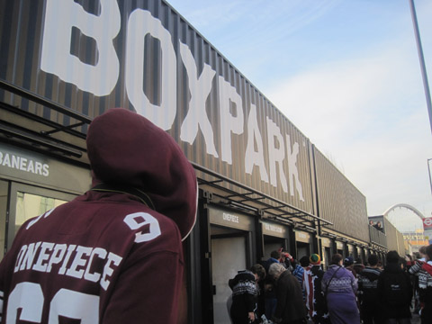 Boxpark Shoreditch - photography by Amelia Gregory