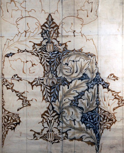 William Morris Story Memory Myth Design for Acanthus