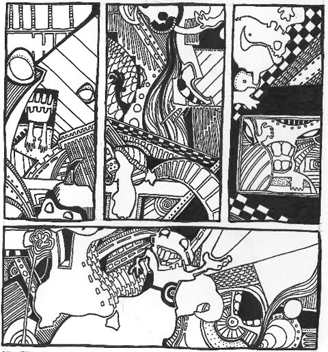 Intercorstal Page 49 detail by Gareth A Hopkins