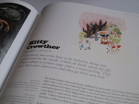 Making Great Illustration kitty crowther