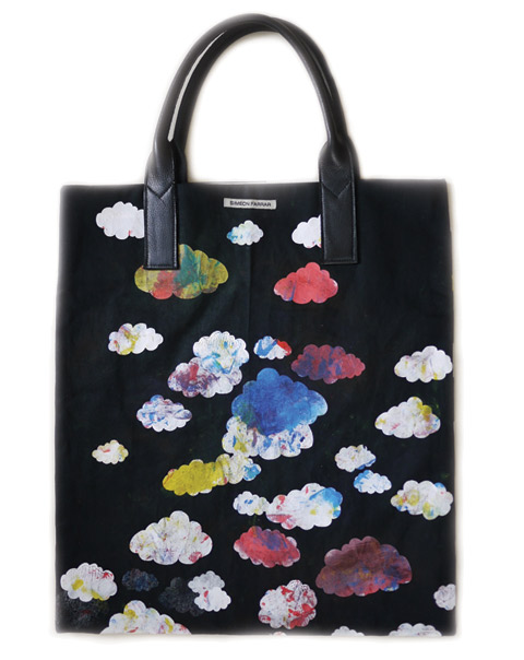 Cloud Print Tote Bag