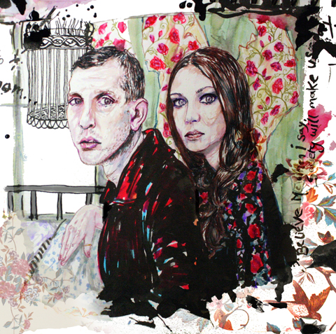 James Levy & Allison Pierce by Elizabeth Hudson