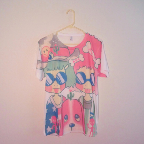 Justin Wallis MILKBBI t-shirt