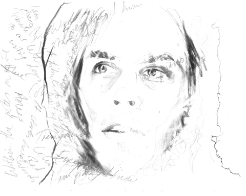 Peter Broderick by JL Illustration