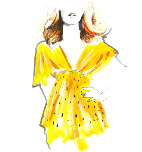 Simeon Farrar Spring/Summer 2012 by JL Illustration