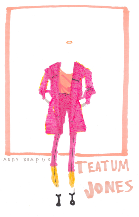 Teatum Jones A/W 2012 by Andy Bumpus