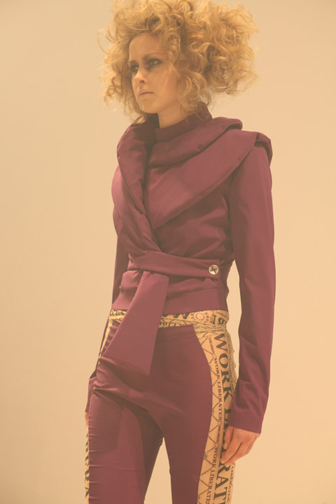 Carlotta Actis Barone AW 2012 - photo by Amelia Gregory