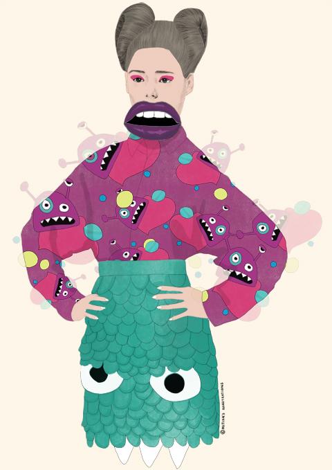 Fam Ivroll AW 2012 by Mitika Chohan