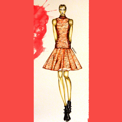 Fyodor Golan A/W 2012 by Marta Madaiva Illustrations